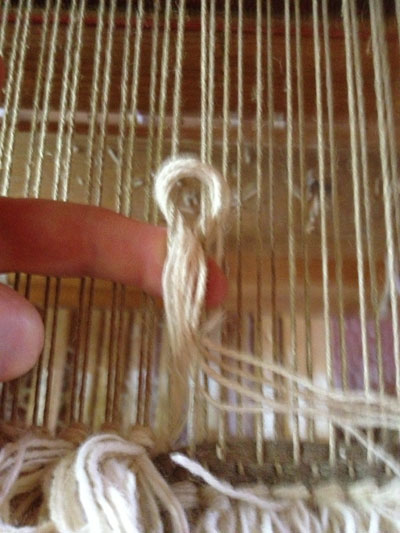 Making a knot